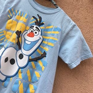 O L A F Olaf DISNEY Kid's Graphic T-Shirt Boys